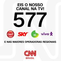 CNN Brasil estreia dia 15 de março no canal 577 na Claro, OI, Vivo e SKY
