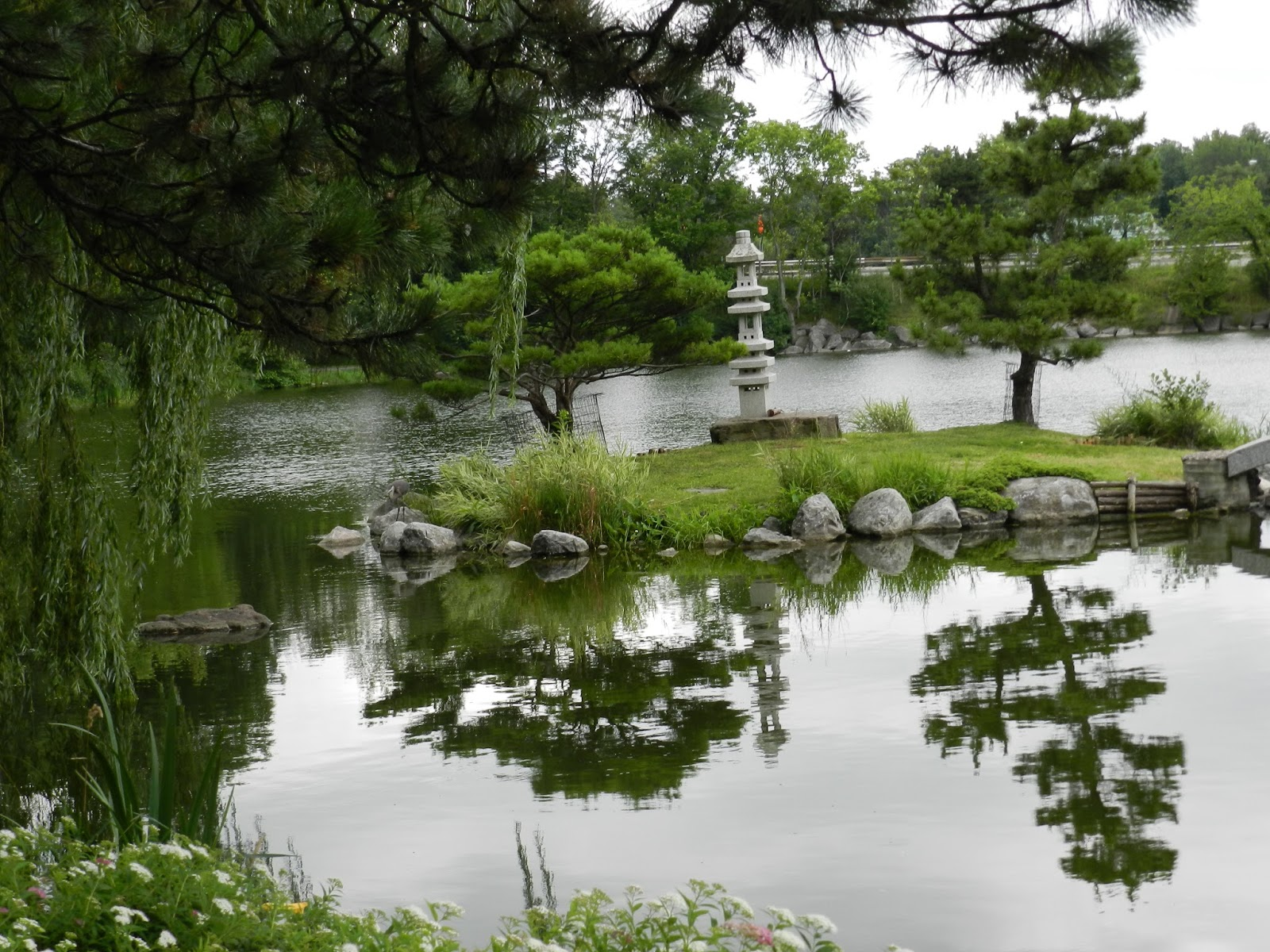 Welcome To The Japanese Garden Of Buffalo Garden Walk We Welcomed Visitors From Every Where