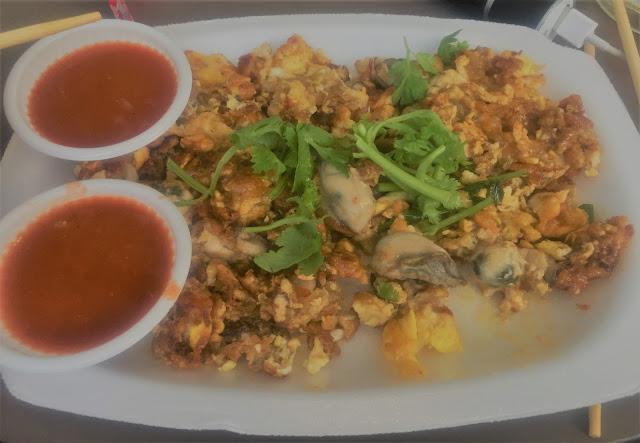 East coast lagoon food village oyster omelette