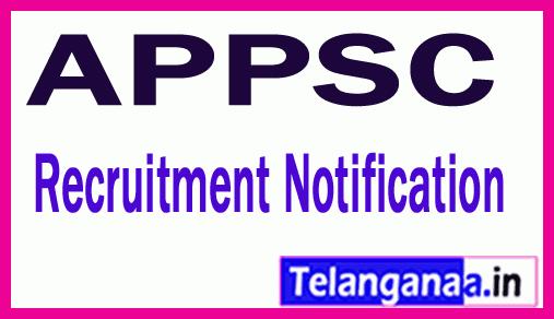 APPSC Corrigendum for Assistant Executive Engineers Notification
