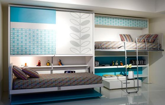 Space Efficient Bedroom Furniture: Bharat Dream Home: Space Saving Furniture