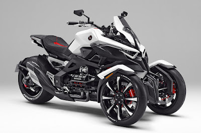 Honda Reveals NEOWING Three Wheel HD Wallpaper
