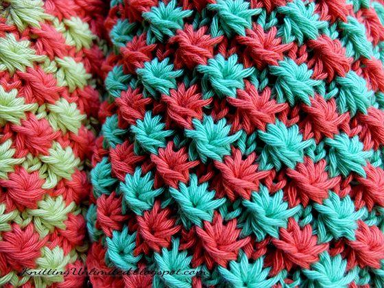 Daisy Knitting Stitch