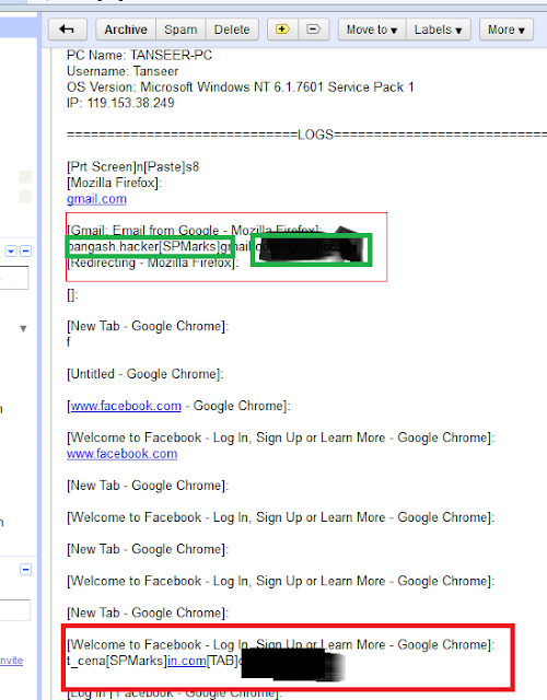 10 Hack Facebook/Gmail/Yahoo/G+ Using Keylogger