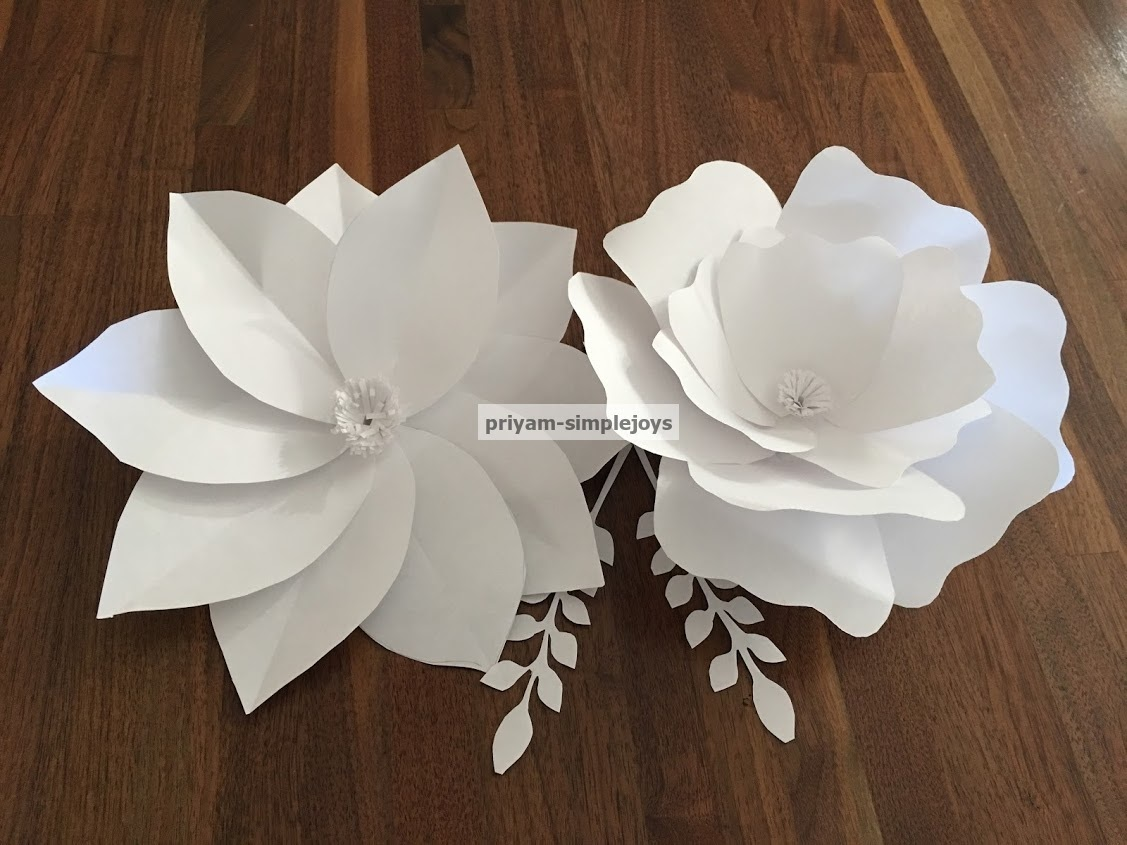 Simplejoys Giant Paper Flowers