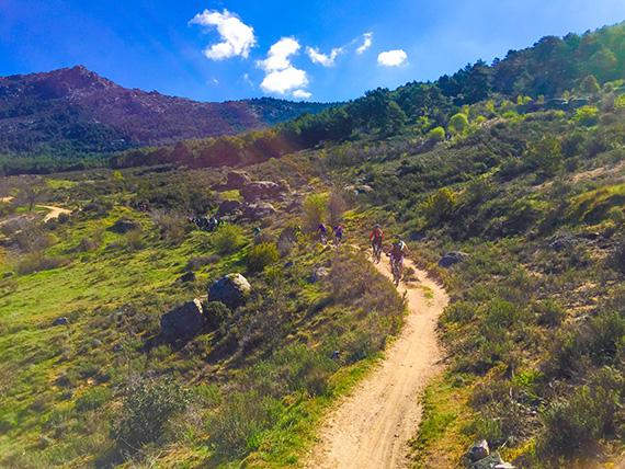 Ruta MTB a la Sierra de La Cabrera, sábado 7 de mayo de 2016 ¿Te apuntas?