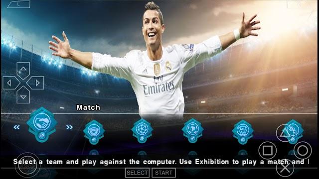 SAIU!! FIFA 18 MOD PES 2018 PPSSPP FACES REALISTAS TIMES ATUALIZADOS PSP/PC/ANDROID