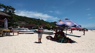 Persewaan Kano di Pantai Pandawa Bali