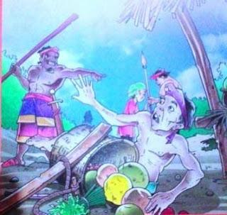 Cerita Rakyat Sumatra Utara  ( Kisah Kelana Sakti )