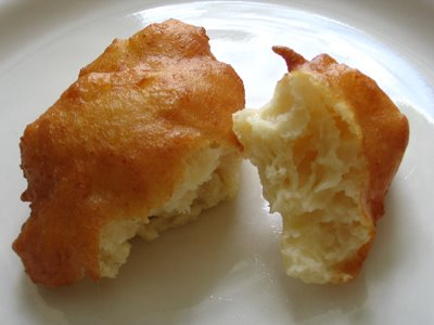 Rum and Ricotta Fritters