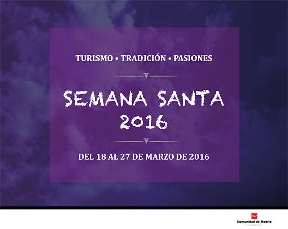 Guía de Procesiones Semana Santa 2016 en la Comunidad de Madrid