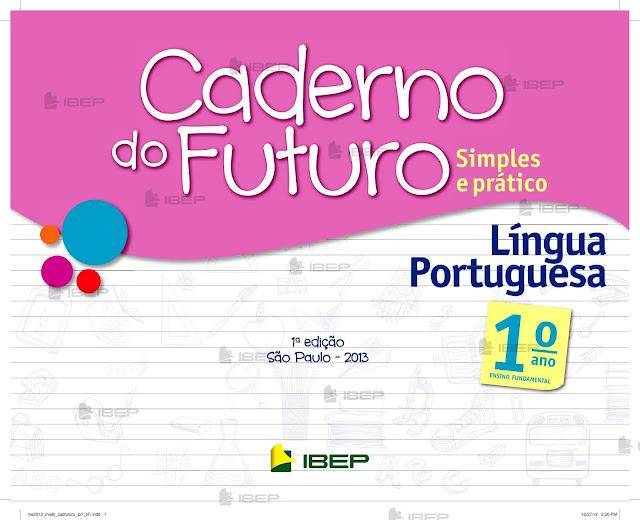 CADERNO DO FUTURO 1 ANO PORTUGUÊS