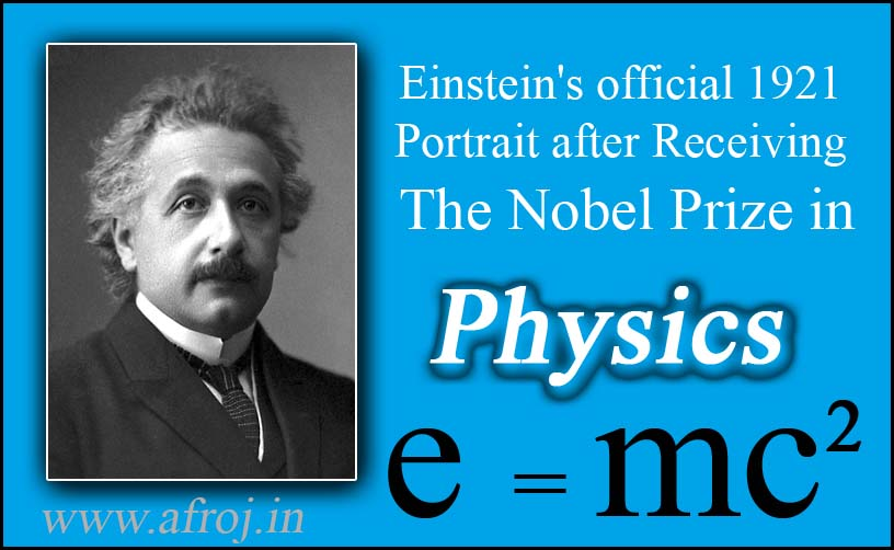 a biography of albert einnstein the receiver of the nobel prize in physics 1921 A listed biography and research links on the famous scientist albert einstein to be a physics and in 1921, einstein was awarded a nobel prize for his.