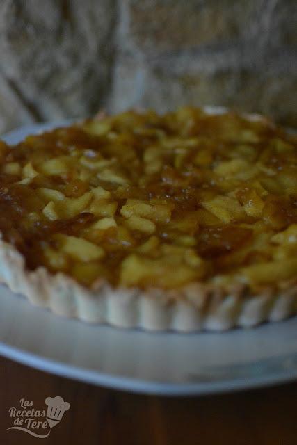 Maravilloso pastel de manzana con crema pastelera tererecetas 04