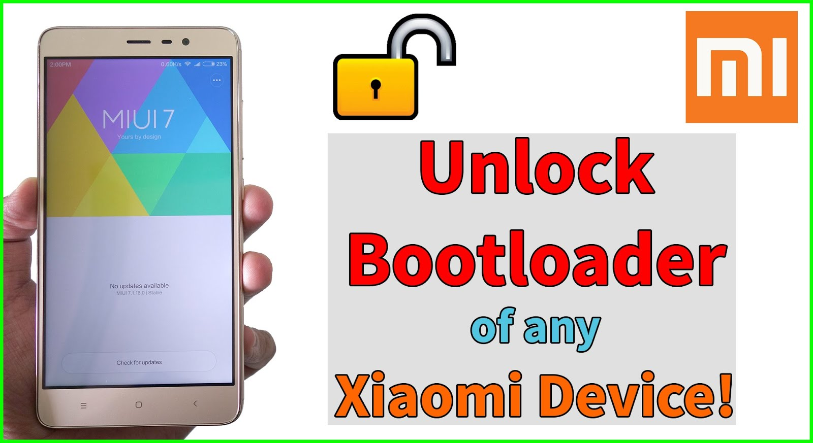 How to Unlock Bootloader of Xiaomi Redmi Note 4 Mido - BhuDroid