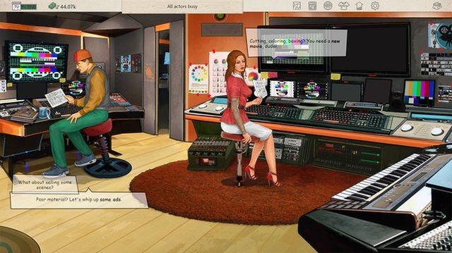 O jogo Pornô Studio Tycoon adere a este subgênero de estratégia para aumentar o desafio de ter sucesso nesta industria, mas apesar de seu nome não fornece conteúdo explícito.