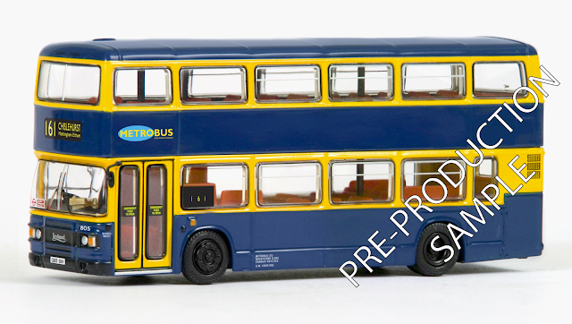 EFE PRE-PRO SAMPLE 29631 - Leyland Olympian - Metrobus Registration number G805 SMV, fleet number 805. Working route 161 to Chislehurst. Scheduled for a June Release. RRP £34.50