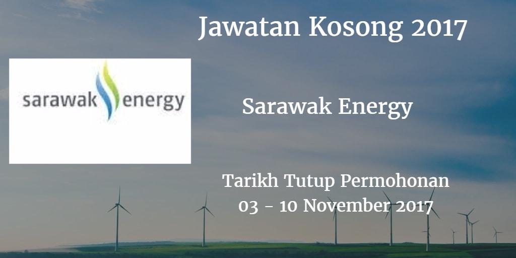 Jawatan Kosong Sarawak Energy 03 - 10 November 2017