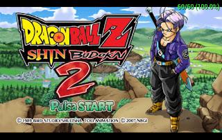 Dragon Ball Z – Shin Budokai 2 PSP [Español] [Cap Propias] [MG-MF-4S]