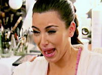 kim kardashian crying ugly cry no teeth