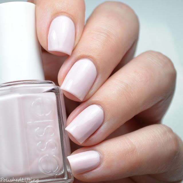 pale pink creme polish