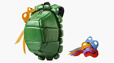 mochila caparazón de tortuga