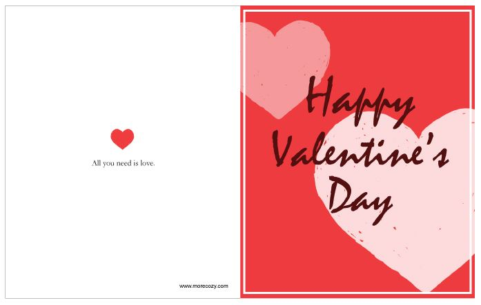 2018 happy valentines day cards