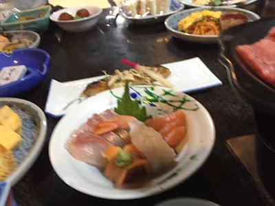 Un poco de sashimi