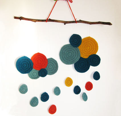 Lluvia de crochet