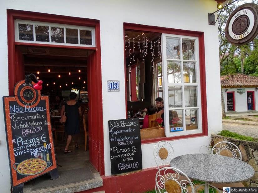 Onde comer em Tiradentes - Pizzaria Noi Tre