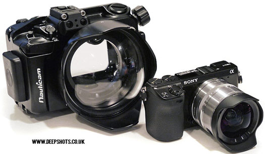 sony nex-7 nauticam underwater housing