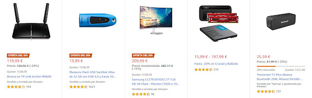 ofertas-10-12-amazon-tres-ofertas-del-dia-dos-flash-seis-destacadas