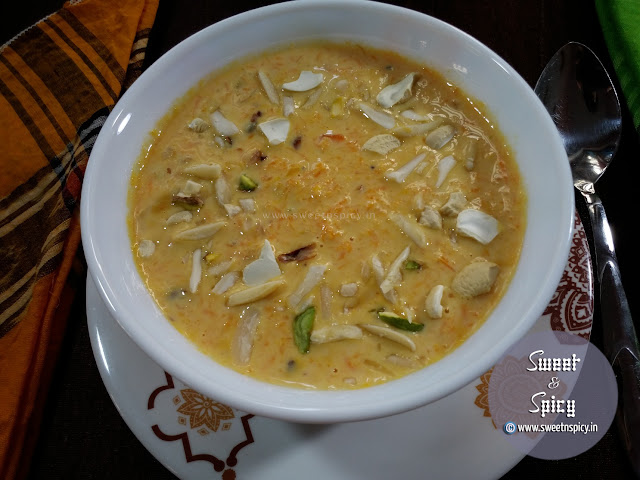 Gajar Ki Kheer Gajrela Carrot Pudding