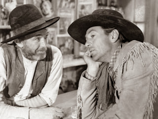 Walter Brennan Gary Cooper in The Westerner
