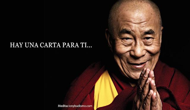 Carta de Dalai Lama para tus preocupaciones