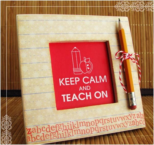 Öğretmene El Yapımı Çerçeve
