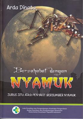 Tersedia Stok Buku Bersahabat dengan Nyamuk