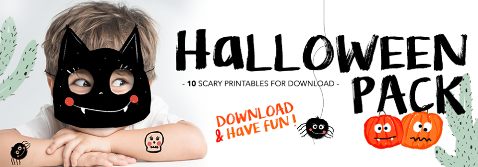 Halloween-Scary-Printables-Máscaras-Catita-Illustrations-AtMums