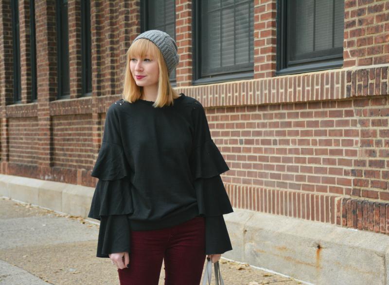 The Perfect Weekend Sweatshirt | Organized Mess