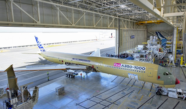 first airbus a350-1000