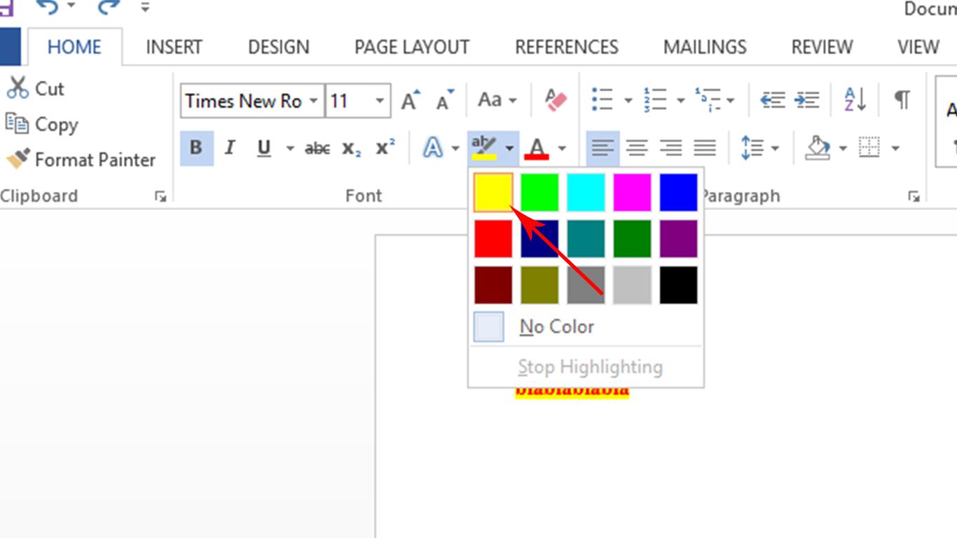 Mengubah warna membuat highlight dan memberi effek pada text di ms jika anda ingin membeuat highlight atau dalam arti menstabilo text maka pilih menu home lalu klik pada petunjuk panah di gambar lalu pilih warna yang akan ccuart Gallery