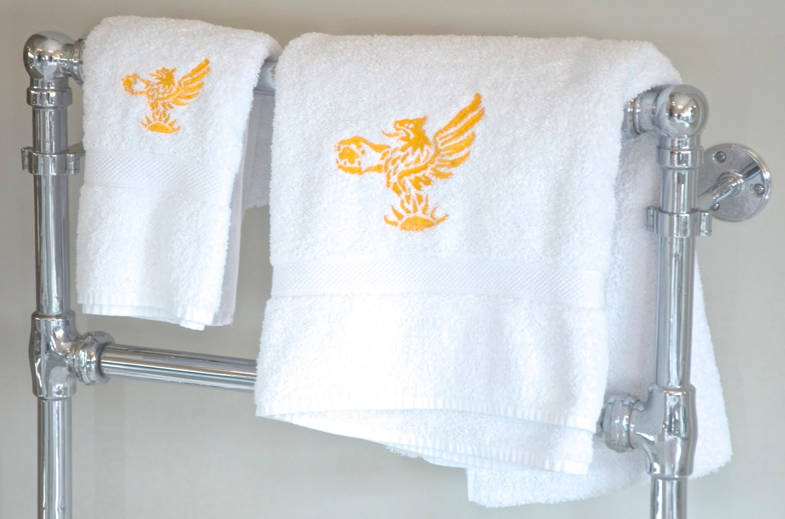 Cowdray House Embroidered Bath Towels