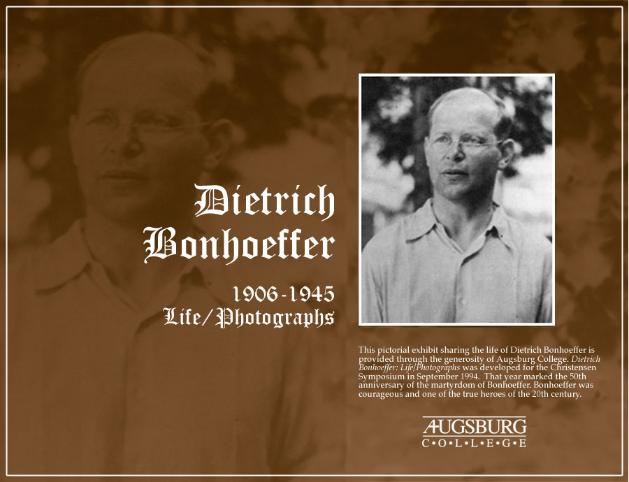 Dietrich Bonhoeffer Quotes On Marriage. QuotesGram