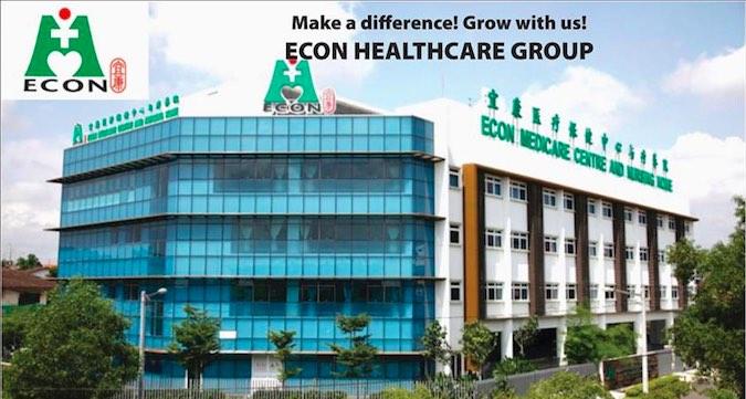 ECON Medicare Centre Johor Bahru Jobs Vacancies 2016