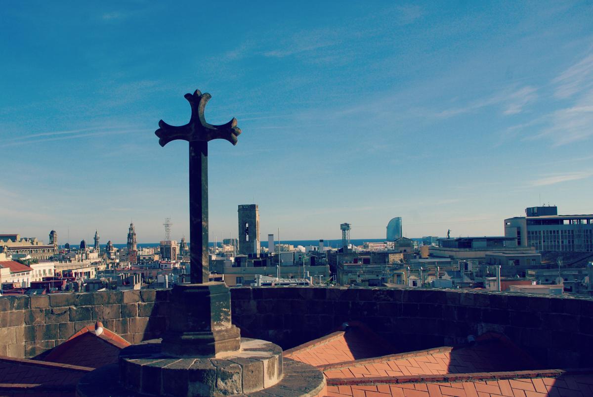 Katedra - La Seu - widok z dachu