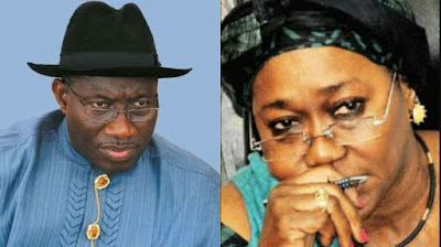 Photos of Goodluck Jonathan and Farida Waziri