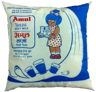 milk turnover of amul