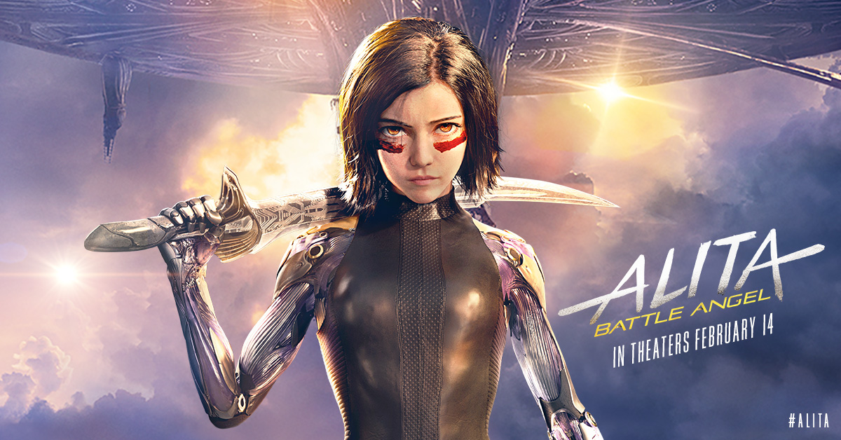 Cinematic Releases: The Rusty Angel: Alita: Battle Angel (2019) - Reviewed