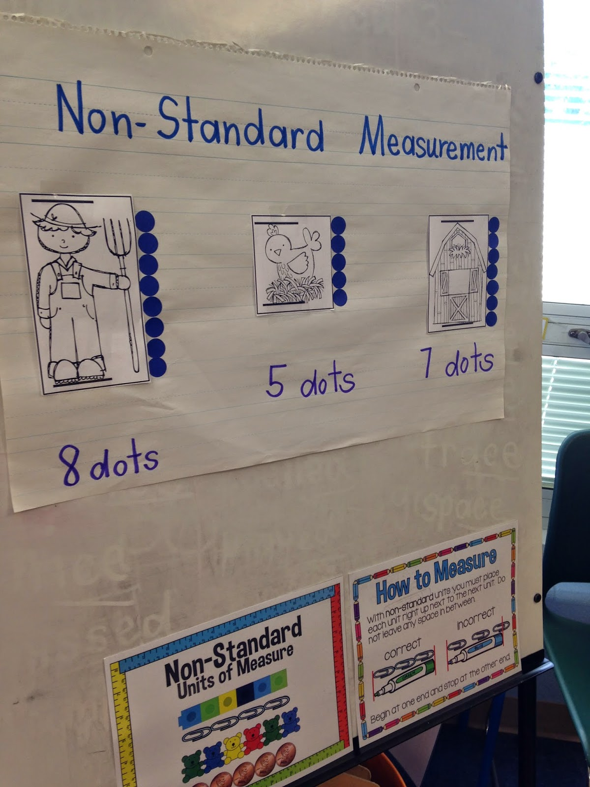 Mrs Wheeler S First Grade Tidbits Non Standard Measurement