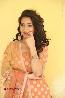 Telugu Actress Santoshi Sharma Latest Stills in Salwar Kameez at HBD Movie Teaser Launch  0004.JPG